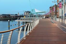 Construction & Fabrication Sectors - Limerick Boardwalk